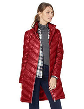 Load image into Gallery viewer, Women's Chevron-Quilted Packable Down Coat (4365972930700)