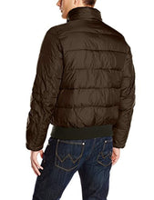 Load image into Gallery viewer, Men's Nylon Hooded Puffer Bomber Jacket (4365972537484)