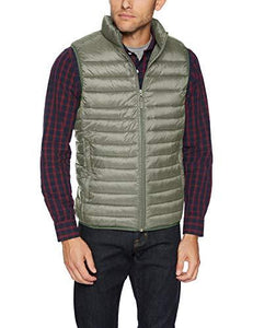Men's Lightweight Water-Resistant Packable Puffer Vest (4365972504716)