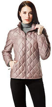 Load image into Gallery viewer, Women Packable Down Quilted Jacket Lightweight Puffer Coat (4365972799628)