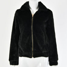 Load image into Gallery viewer, Fold Over Collar Zipper Short Jacket (4369630593164)
