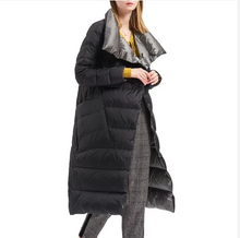 Load image into Gallery viewer, Women Double Sided Long Down Coat (4369202217100)