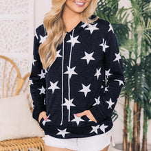 Load image into Gallery viewer, Star Printed Pullovers Sweater & Hoodies (4369724506252)