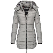 Load image into Gallery viewer, Women Winter Hooded Warm Coat Solid Color (4365972045964)