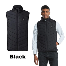 Load image into Gallery viewer, 2019-Waterproof & Lightweight Unisex Warming Heated Vest Down Jacket (50% OFF+Free Shipping) (4365000245388)