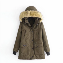Load image into Gallery viewer, Women Warm Thick Winter Hooded Parka Coat (4369210409100)