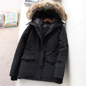 Women Winter Warm Padded Parka Coat (4370005786764)