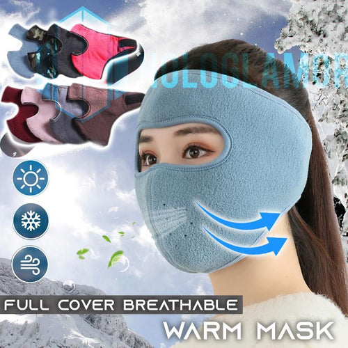 Full Cover Breathable Warm Mask