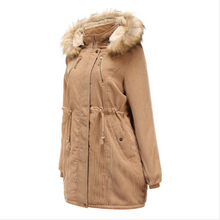 Load image into Gallery viewer, Women Hooded Winter Warm Parkas Thick Coat (4369234985100)