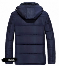 Load image into Gallery viewer, Winter Men Warm Fleece Parka Coat M-5XL (4369268506764)
