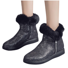 Load image into Gallery viewer, Sequin Plus Velvet Snow Boots (4369559912588)