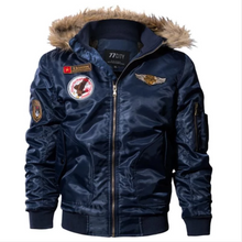Load image into Gallery viewer, Winter Bomber Jacket Thermal Down Cotton Parkas (4369578131596)