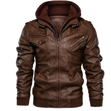 Load image into Gallery viewer, Men Autumn Winter Hooded Coats Jacket 4XL (4369613488268)
