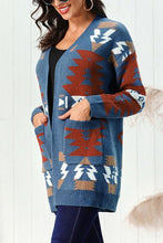Load image into Gallery viewer, Christmas Knit Pocket Cardigan