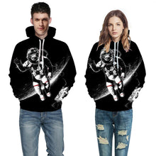 Load image into Gallery viewer, 3d Printing Loose Hooded Sweatshirt (4369724047500)