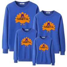 Load image into Gallery viewer, Thanksgiving Day Sweatshirt For Daddy Mommy Kids (4369726996620)