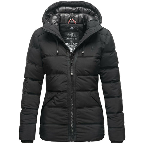 Women Hooded Short Winter Quilted Coat (4370000216204)