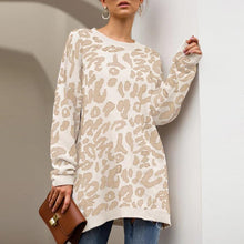 Load image into Gallery viewer, Leopard Printed Sweater Long sleeve (4369712414860)