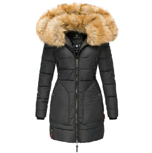 Women Winter Warm Quilted Parka Coat (4369997758604)