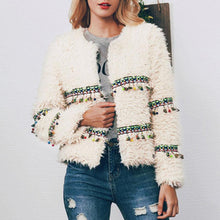 Load image into Gallery viewer, Autumn Winter Fashion Plush Coat (4369626235020)