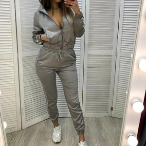 Casual Sports Sweatshirt and Pants Suit (4369740398732)