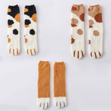 Load image into Gallery viewer, Winter Warm Cat Paw Socks (4369617289356)