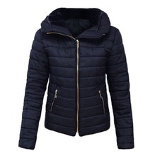 Load image into Gallery viewer, Women Puffer Jacket Solid Winter Slim Coat (4370141511820)