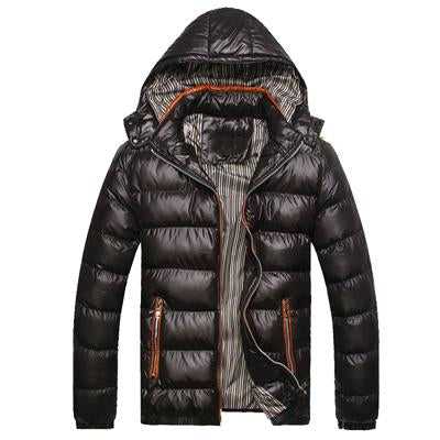 M-7XL Hooded Men Winter Jackets Casual Parkas Coats (4369912561804)
