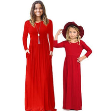 Load image into Gallery viewer, Mother Daughter Family Matching Dress (4370147999884)
