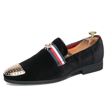 Load image into Gallery viewer, Men Loafers Leather Luxury Shoes Breathable (4369985405068)