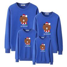 Load image into Gallery viewer, Merry Christmas Bear Printed Family Outfits (4369729159308)