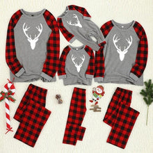 Load image into Gallery viewer, Mommy Daddy Baby Matching Family Christmas Pajamas (4370150883468)