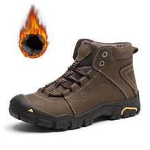 Load image into Gallery viewer, Waterproof Men Hiking Boots Anti-slip Climbing Shoes (4369981997196)