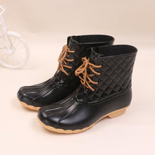 Load image into Gallery viewer, Women Rain Boots Waterproof Non-slip Warm Shoes (4369956831372)