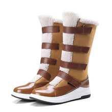 Load image into Gallery viewer, Women Suede Snow Boots Thickened Plush Shoes (4369961746572)