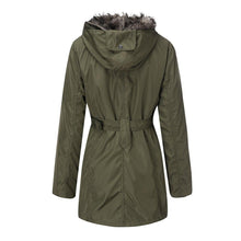 Load image into Gallery viewer, Women Winter Warm Zipper Cotton Coat (4369998872716)