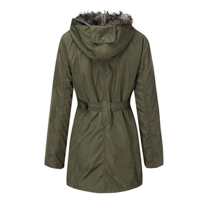 Women Winter Warm Zipper Cotton Coat (4369998872716)