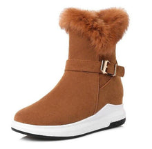 Load image into Gallery viewer, Winter Snow Boots Women Warm Shoes Platform Wedges (4370172641420)