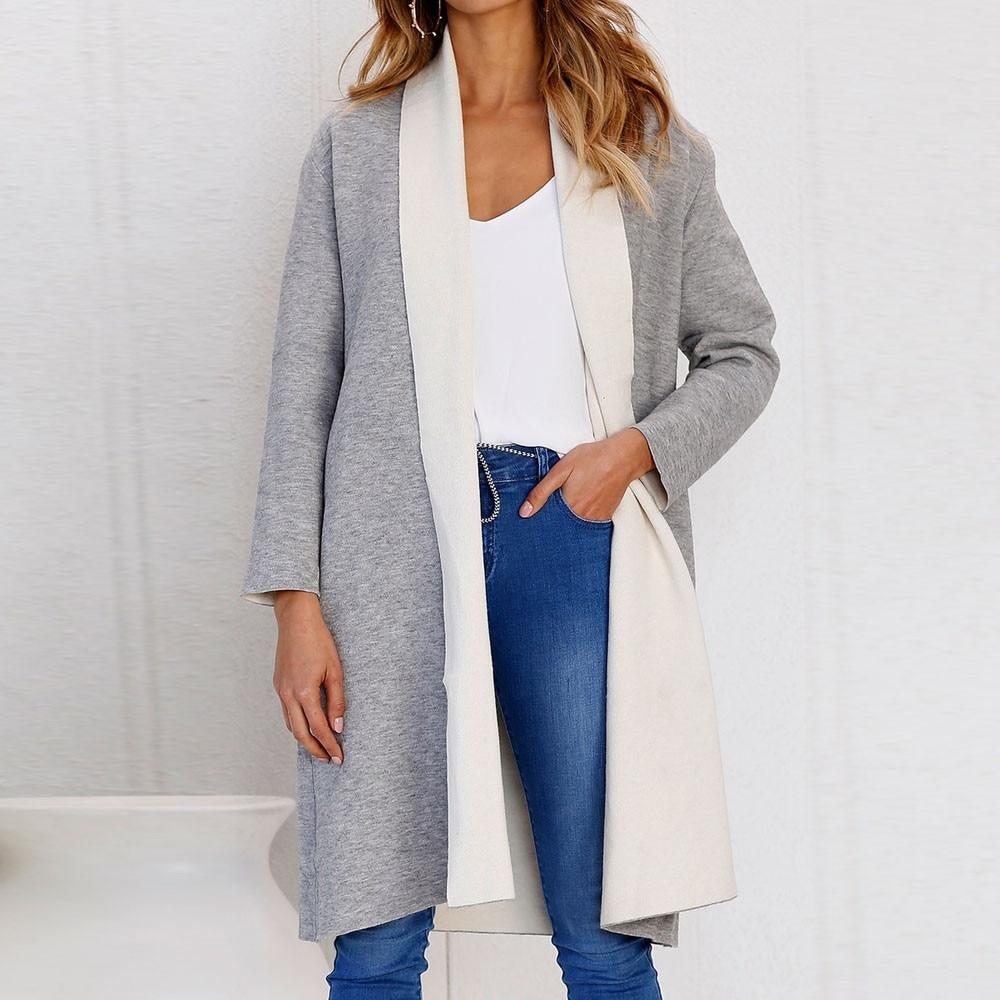 Women Casual Coat Long Sleeve (4370037997708)