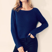Load image into Gallery viewer, Women Autumn Winter Fashion Knitted Sweater (4369644912780)
