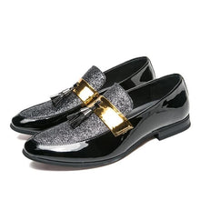 Load image into Gallery viewer, Men Formal Patchwork Shoe PU Leather Casual Flats (4369982947468)