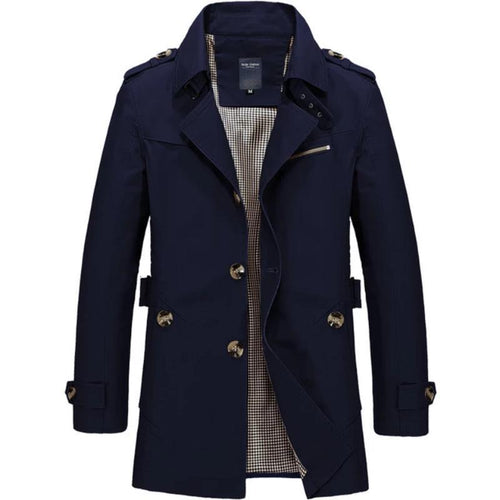 Men Jacket Fashion Trench Coat (4369754456204)