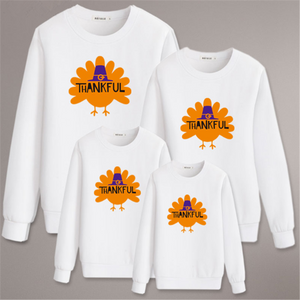 Thanksgiving Day Sweatshirt For Daddy Mommy Kids (4369726996620)