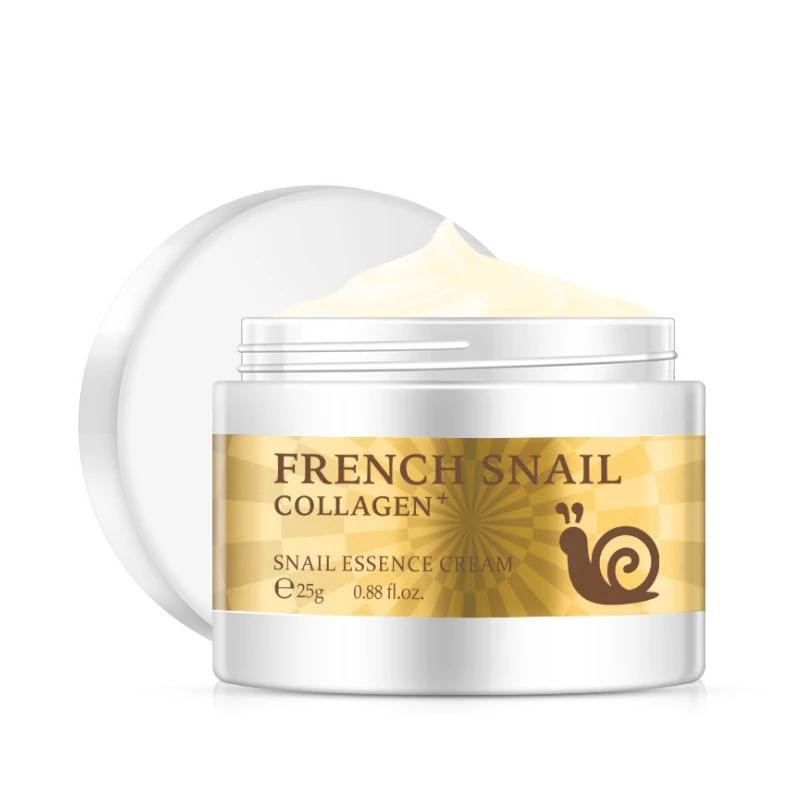 Snail Face Cream With Hyaluronic Acid - Anti-Wrinkle Snail Cream Anti-aging Face Product. Includes Collagen Moisturizer And Nourishing Skin Properties - Shal Radiance