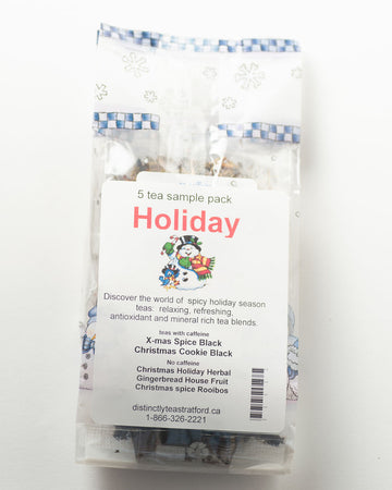 Holiday 5 Tea Sample Pack