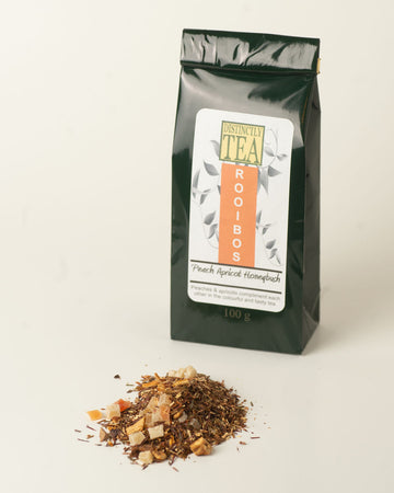 Peach Apricot Green Honeybush - Rooibos Tea