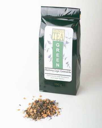 Blueberry Sage Genmaicha - Green Tea