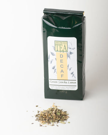 Green Sencha Lemon - Decaf  Green Tea