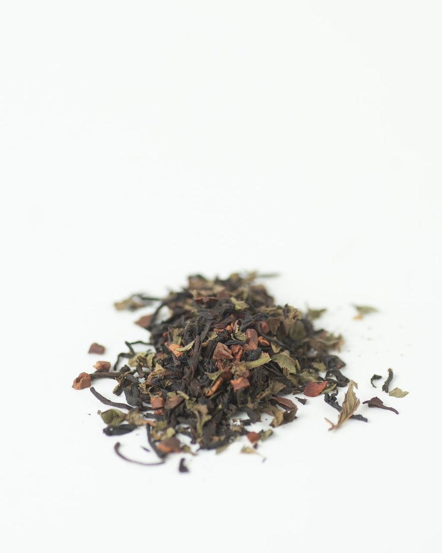 Chocolate Mint Black - Black Tea