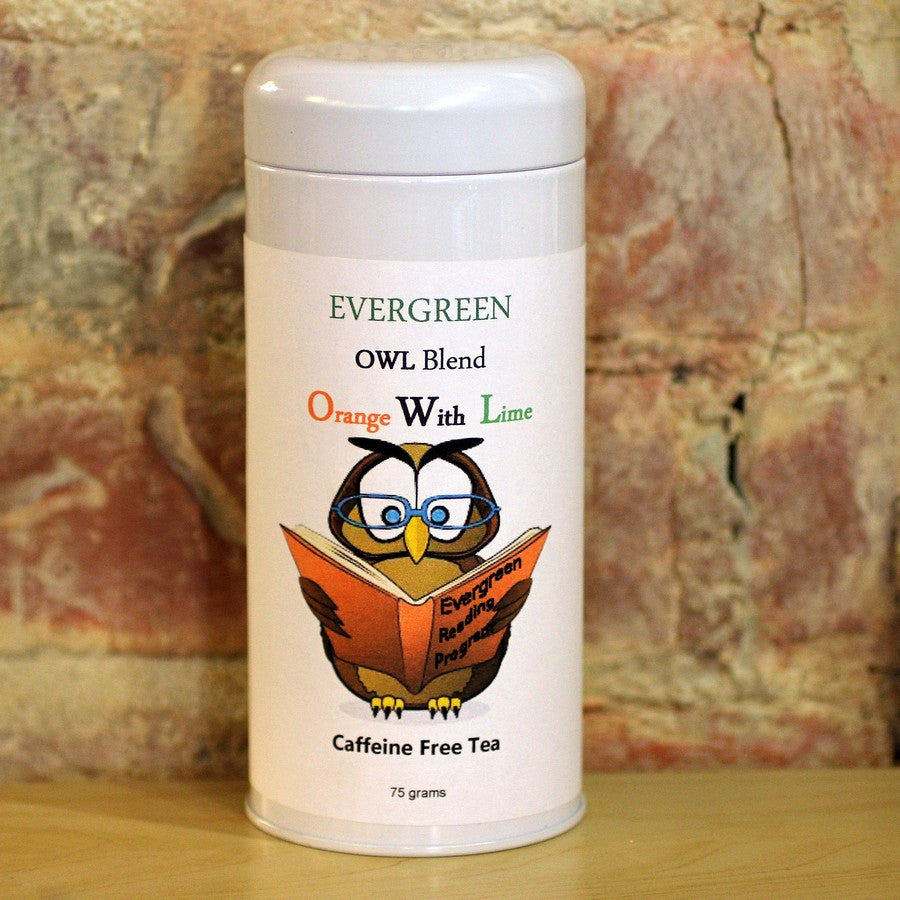 Evergreen      OWL   Blend           Orange With Lime    Tea
